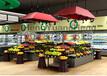 广州订制水果货架蔬果台进口零食置物台
