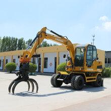 新疆克孜勒苏柯尔克孜可以抓棉花的轮式挖掘机供应商图片