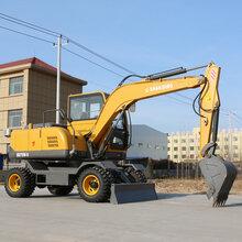 久鼎源轮式小型挖掘机,克孜勒苏柯尔克孜制造久鼎源轮式挖掘机图片