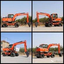 克孜勒苏柯尔克孜进口久鼎源轮式挖掘机,轮式小型挖掘机图片