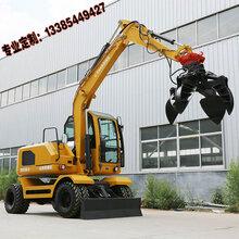 轮式80挖机价格广东广州农用轮式挖掘机多少钱轮式80挖机价格图片