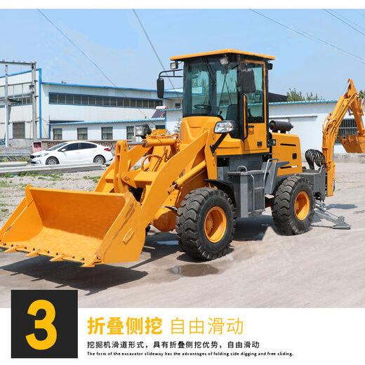 久鼎源小型挖掘機裝載機,天津供應兩頭忙性能可靠