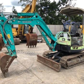 郴州純進口二手小型挖掘機交易市場,二手小挖機