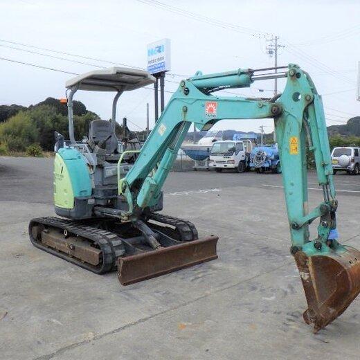 收二手中小型挖掘機,日本二手挖機交易市場