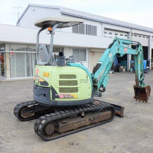 洋馬日本二手挖機市場,二手中小型挖掘機120