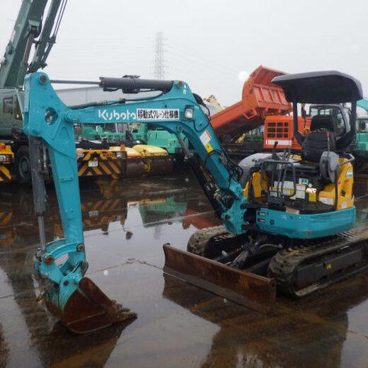 洋馬日本二手挖機交易市場,二手小型35挖掘機價