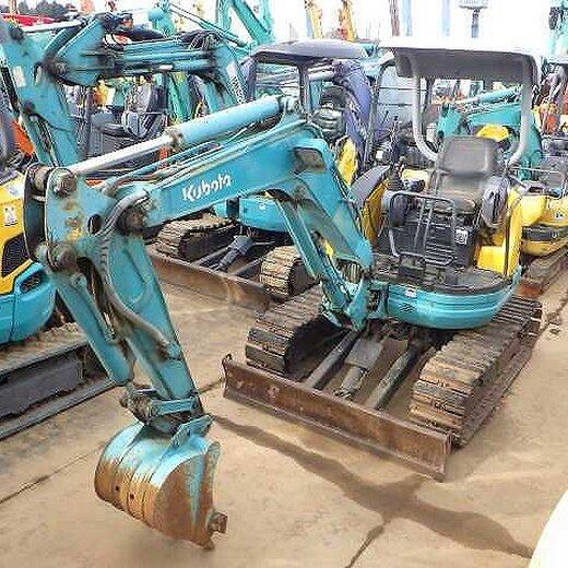 洋馬日本二手挖機交易市場,二手微小型挖掘機價格