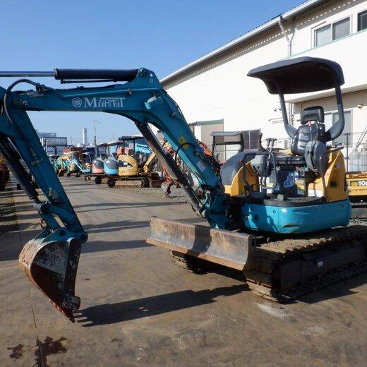 二手50玉柴小型挖掘機,日本二手挖機