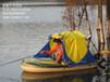 4人帐篷船,四人橡皮艇,充气船带帐篷
