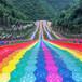 网红旱雪滑道投资大型彩虹滑道景区彩虹滑道供应