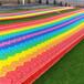 戶外七彩滑道游樂設備游樂園旱雪滑道價格景區大型彩虹滑道設備