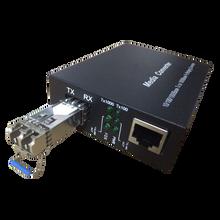 光纤收发器单模单纤千兆LC多模双纤光交换机光模块SFP光电转换器图片