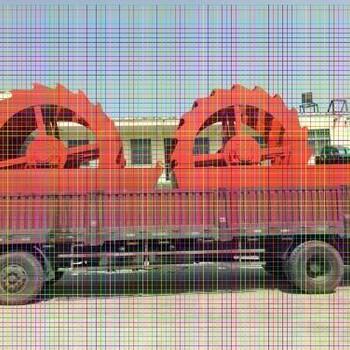 山西潞城制沙机三维动画视频滚筒筛沙机