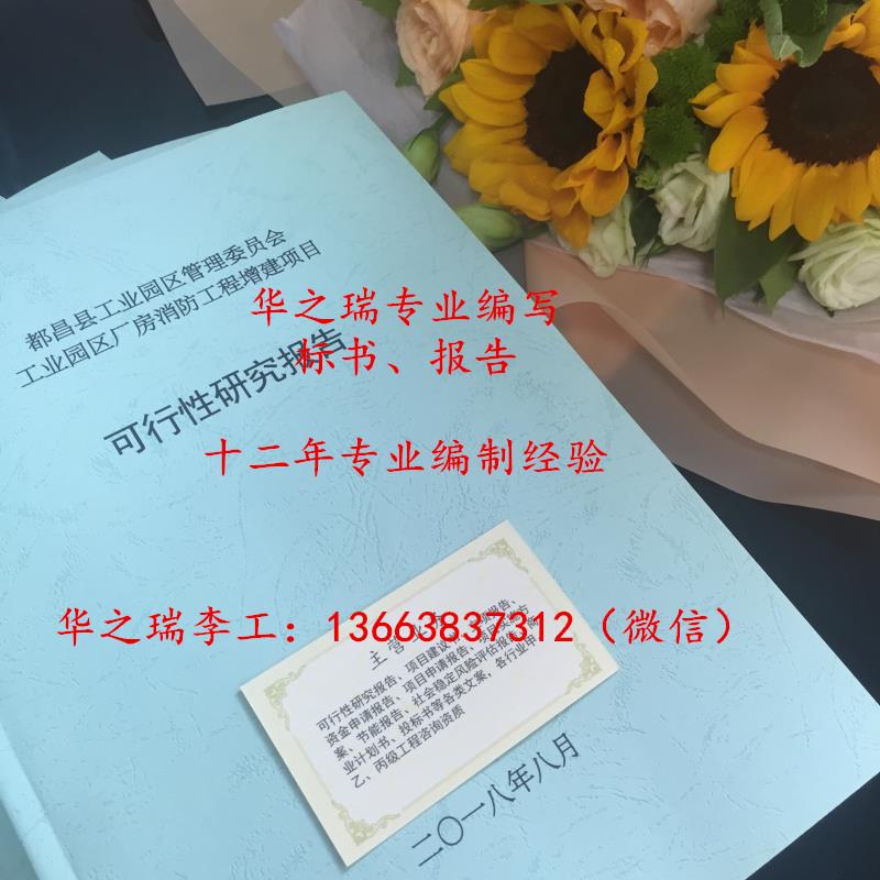 濉溪县-濉溪县做标书公司-做标书保证客户满意