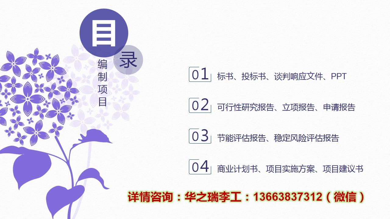 潮州-潮州可以做可行性报告-项目立项可行性研究报告