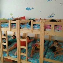 鄭州學生床實木上下床廠家批發高低床雙層兒童床午托班床幼兒園兒童床