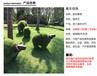 晶尚:植草羊玻璃鋼雕塑-公園綠地擺件-景觀美陳-支持來圖訂制