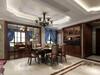 鄂尔多斯澜园180新中式家装设计效果图