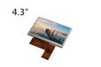4.3寸便携导航仪专用液晶显示模组/群创小尺寸窄体液晶异形屏AT043TN25V.2
