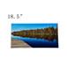 18.5寸工业液晶背光模组定制厂家/群创异形TFTlcd高清高亮条形屏