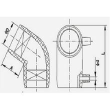 PE管件全新料DN20-DN1600弯头三通直通四通大口径PE100图片