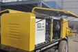 煤礦用混凝土泵HBMG-云南昆明-洗管視頻
