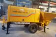 武威矿山混凝土输送泵一小时输送40立方
