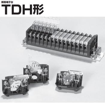 日本FUJIDK不二电机端子台TDH-14侧板TDHE14