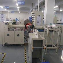 优质节能双色硅胶LED灯带挤出机,提供硅胶LED灯带挤出生产工艺图片