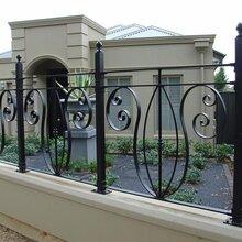 庭院护栏庭院安全围栏防爬隔离栅栏D型两杆锌钢护栏图片