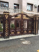 铝合金护栏铝艺大门-大门、别墅护栏、别墅门厂家图片
