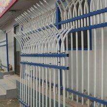锌钢护栏围墙栏杆铝艺护栏固定安装时候需要注意点图片