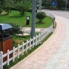 塑鋼綠化草坪護欄+開封塑鋼綠化草坪護欄+塑鋼綠化草坪護欄廠家圖片