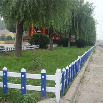 鹤壁PVC塑钢草坪护栏,PVC塑钢围墙护栏,PVC塑钢道路护栏