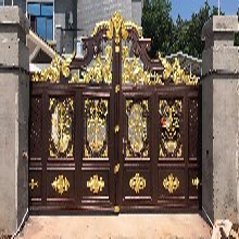 别墅大门柱子设计图片新乡凤泉区家庭院大门图片图片