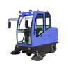 甘肃驾驶式电动清扫车XZJ-2000全封闭式电动扫地车价格