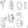 MICROUSB后两脚7.2mm插板5PIN母座-B型后插后贴SMT卷边雾锡