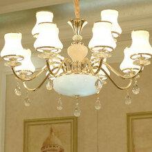 锦阳灯具批发吊灯价格客厅大灯LED吊灯图片