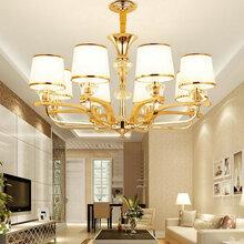 欧式吊灯简欧水晶灯奢华大气后现代简约家用卧室餐厅美式客厅吊灯图片