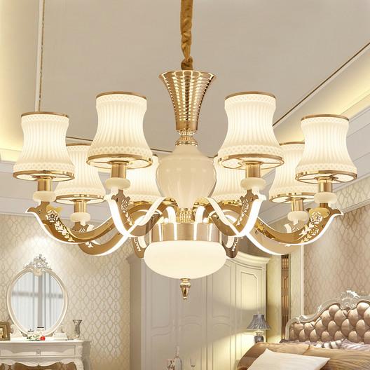 灯具套装组合新中式客厅吊灯现代简约中国风卧室餐厅复古家用大气