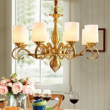 歐式吊燈客廳吊燈大氣餐廳吊燈簡歐陶瓷吊燈臥室簡約現代家用燈具圖片