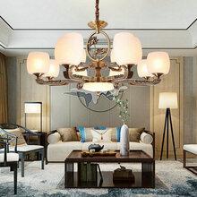 歐式吊燈客廳燈簡約現代奢華大氣家用高檔餐廳吊燈主臥室大廳燈具圖片