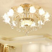 欧式吊灯客厅灯全铜餐厅吊灯奢华灯客厅吊灯简约卧室灯具大气灯饰图片