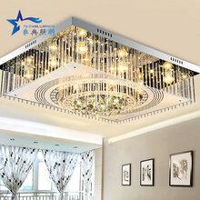 现代新中式古典客厅灯别墅复式楼仿古餐厅灯具复古中国风大吊灯图片
