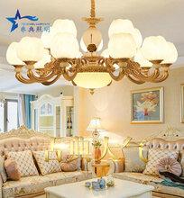 欧式吊灯客厅吊灯简欧餐厅吊灯奢华大气水晶吊灯简约现代家用灯具图片