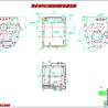 发动机变速箱箱体加工及夹具设计--铣四个定位平面-粗镗轴承孔