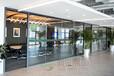 陜西博爾單層玻璃高隔間做優質玻璃隔墻,定制高隔