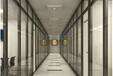 甘肅辦公室玻璃隔斷辦公高隔間雙玻百葉隔斷廠家