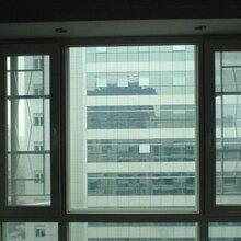 西安隔音隔熱門窗直銷家裝靜立方鋁鈦鎂合金平開窗圖片
