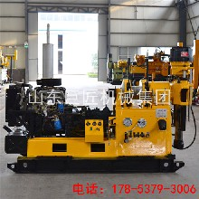 厂家直销XY-200液压钻探机动力头百米深水井钻探机配件